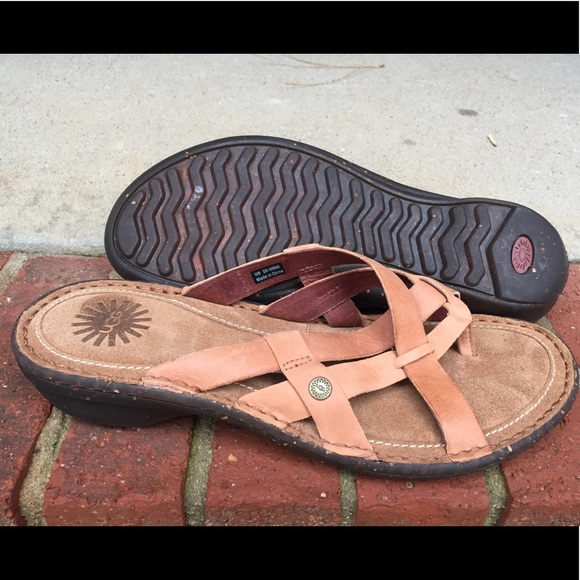 bb15c81d7ae New UGG women's Sandals- tan Size-8
